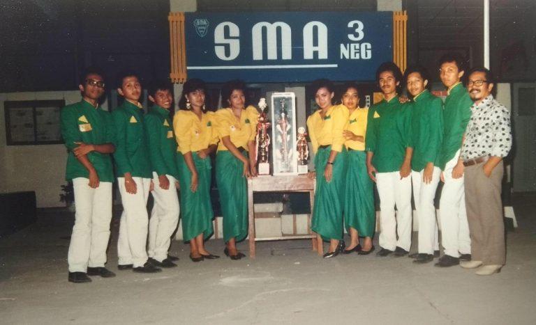 Nostalgia 'Foto Lawas' SMA Negeri 3 Surakarta